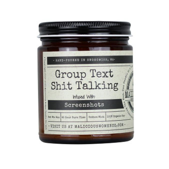 """Group Text Shit Talking - Infused with """"Screenshots"""""""
