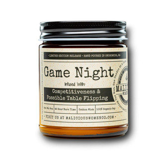 """Game Night - Infused With """" Competitiveness & Possible Table Flipping """""""