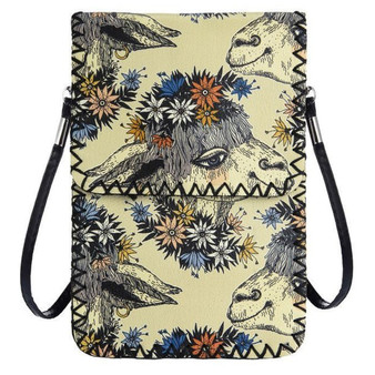 Llama Crossbody Cellphone Bag