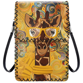 Giraffe Crossbody Cellphone Bag