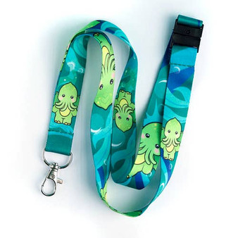 Cute Thulu Kawaii Lanyard