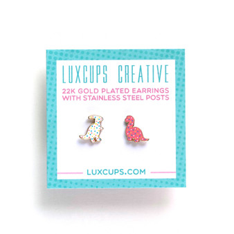 Dino Cookie Earrings