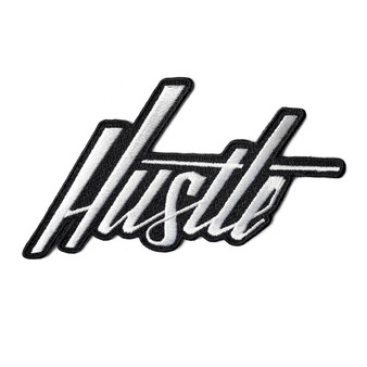 Hustle Hand-Lettered Patch