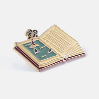 Shark Book Pin