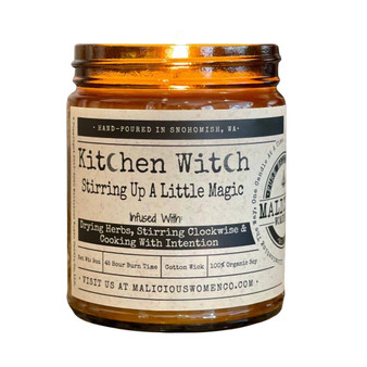 """Kitchen Witch - Infused with """"Drying herbs...Intention"""""""
