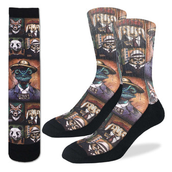 Animal Mugshots Socks