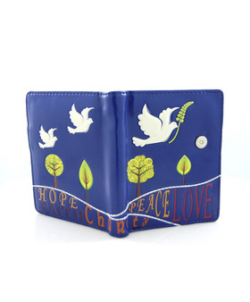 Faith, Peace, Hope Wallet