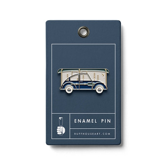 Adventure Car Enamel Pin