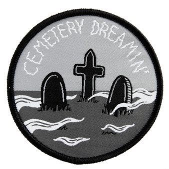 """Cemetery Dreaming"" 2.75 Iron On Patch"