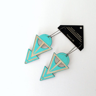 Turquoise Coven Earrings