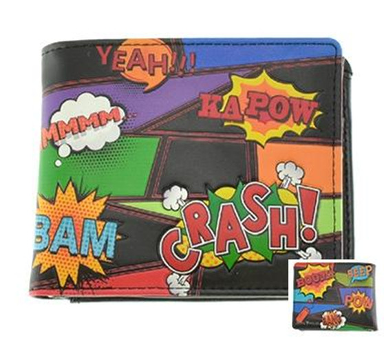 Comic Book Wallet