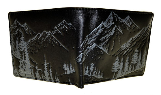 Mountain Scene Wallet