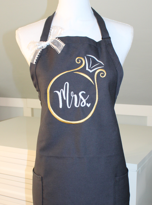 Mrs. Apron with Ring
