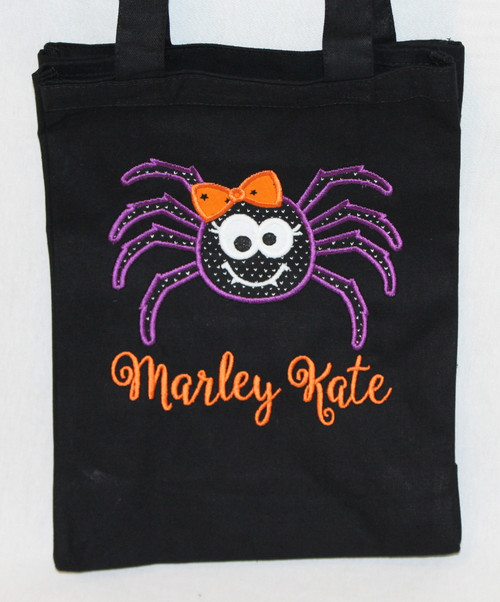 Spider Trick or Treat Bag