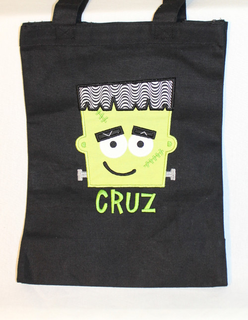Frankenstein Trick or Treat Bag