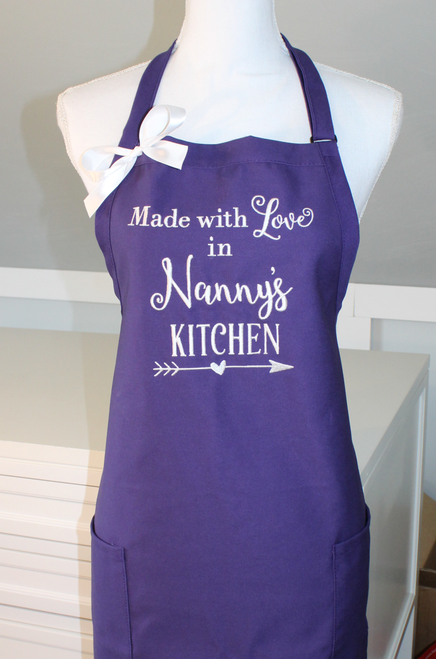 Made with Love in Nanny's Kitchen Apron