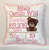 Teddy Bear Birth Announcement Pillow