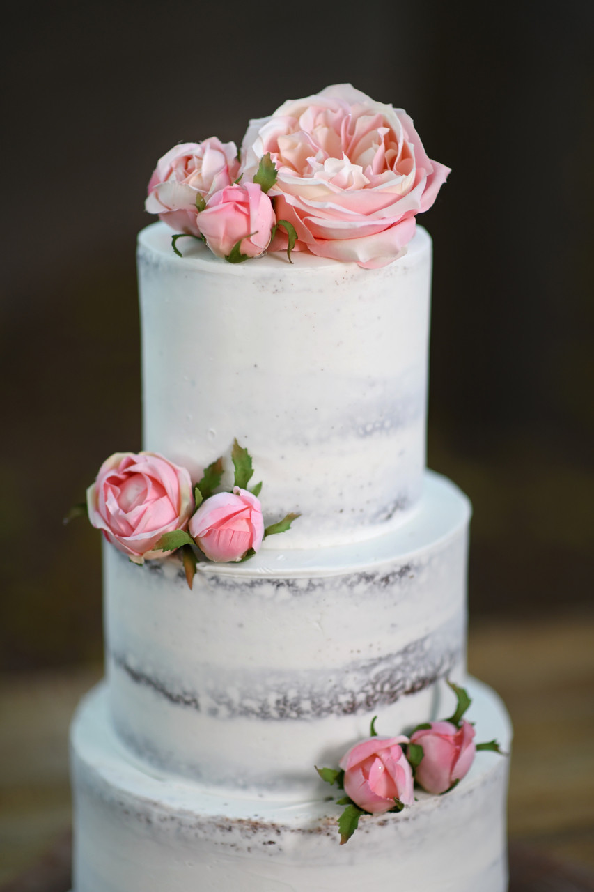 Floral Naked Cake - Eat Cake Love-1937