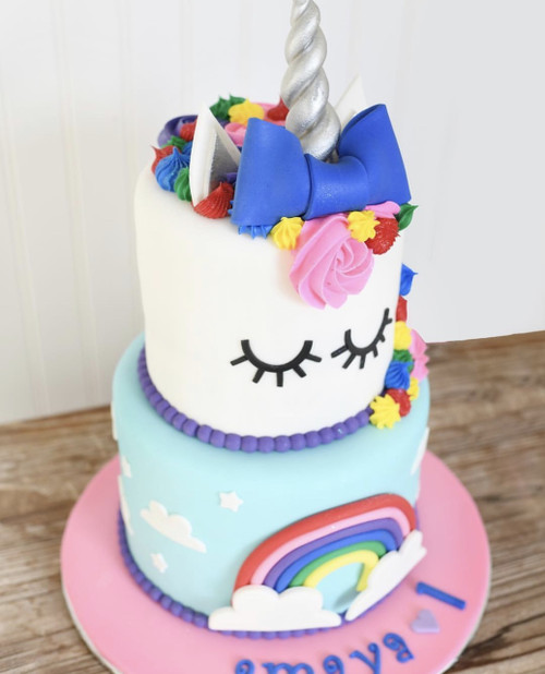 Preppy Unicorn Cake