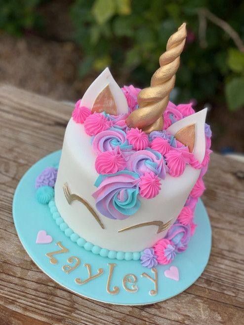 Traditional Unicorn Cake