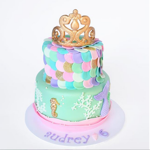 Mermaid Princess Cake