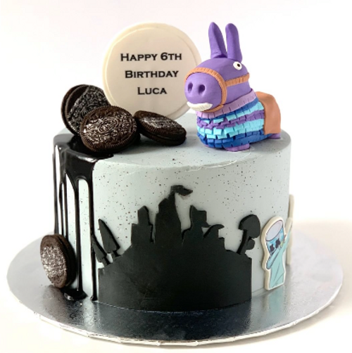 Fortnite Dab Cake