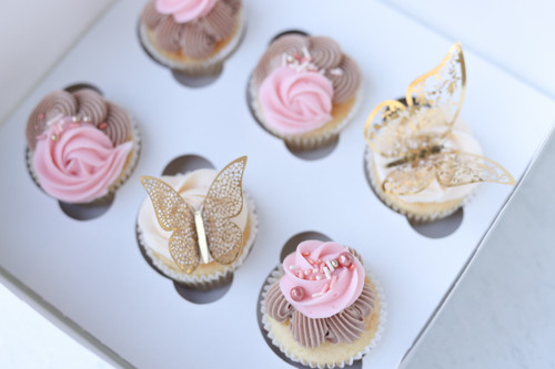 Elegant Butterfly Cupcakes