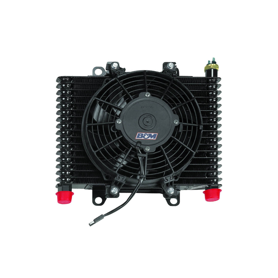 B&M HI-TEK SUPERCOOLER WITH FAN - LARGE