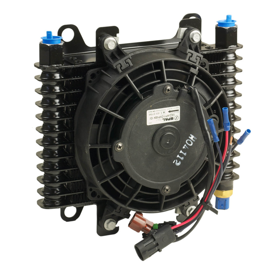 B&M HI-TEK SUPERCOOLER WITH FAN - MEDIUM