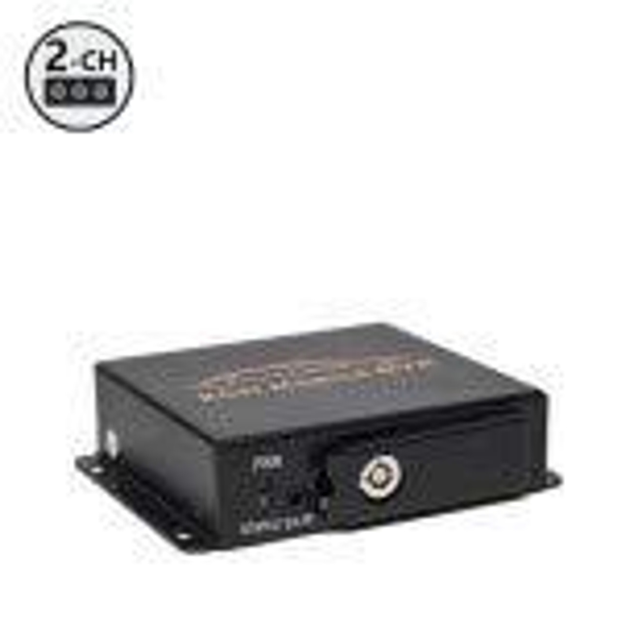 "Mobilemule™ 2100 | 2 Channel Mobile DVR, 9"" RCA Display"