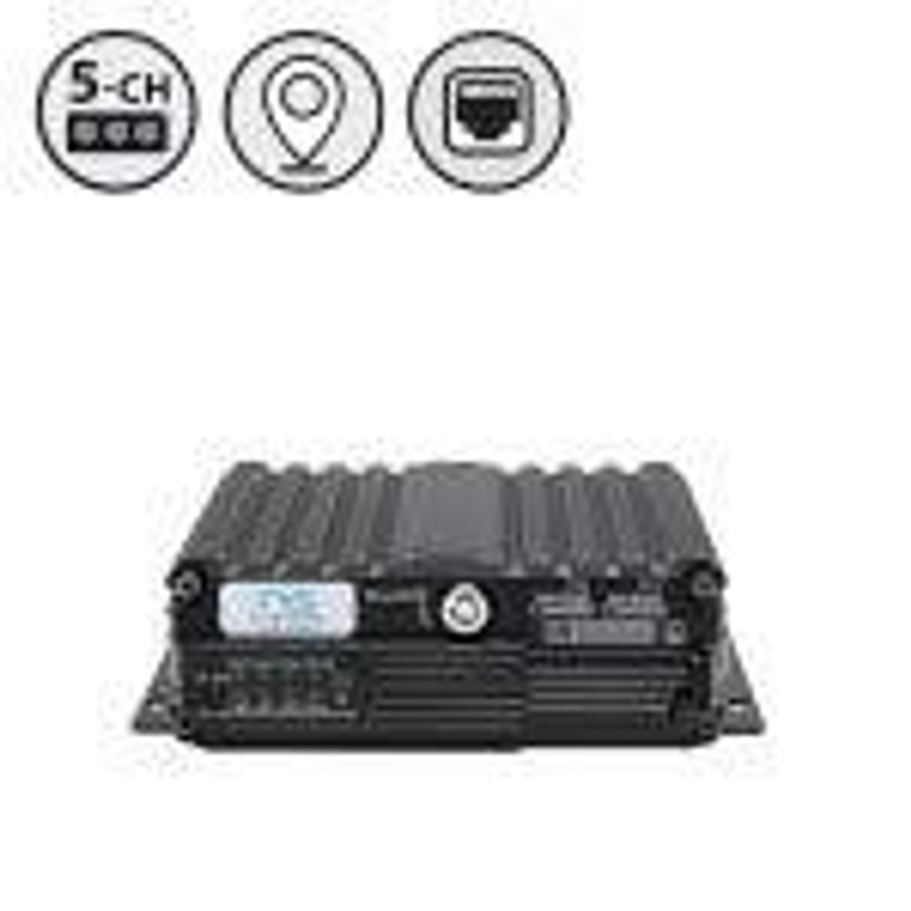 MobileMule™ 5500 | 5 Channel Mobile DVR with GPS (SD)