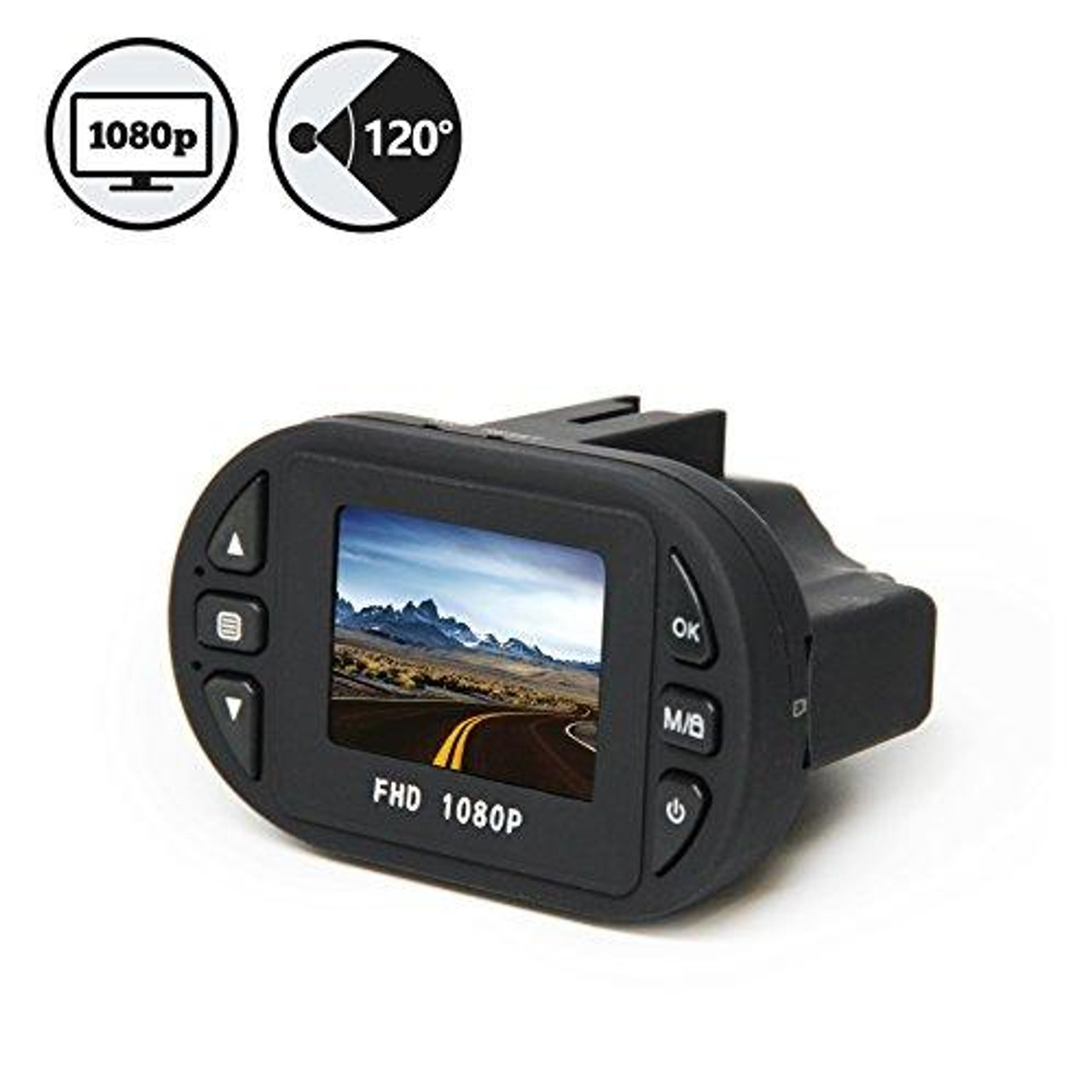 Rear View Safety Compact HD Dash Camera RVS-400C