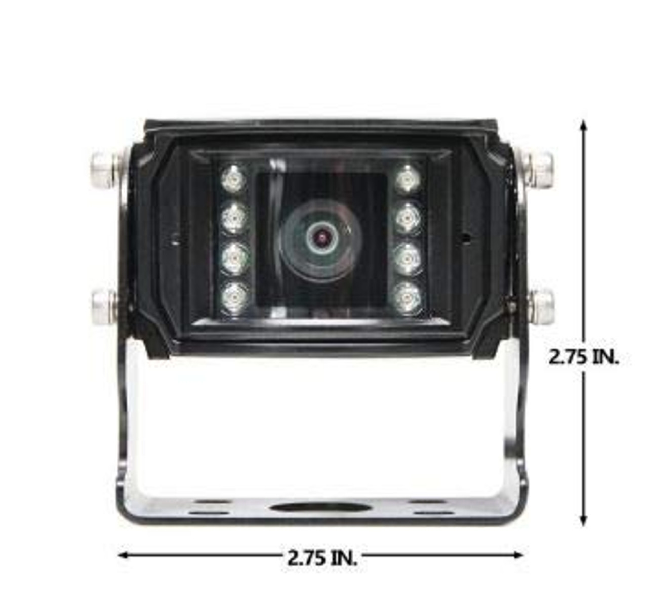 Rear View Safety Heavy Duty Backup Camera with 150° Viewing Angle and 8 Infra-red Lights RVS-2311