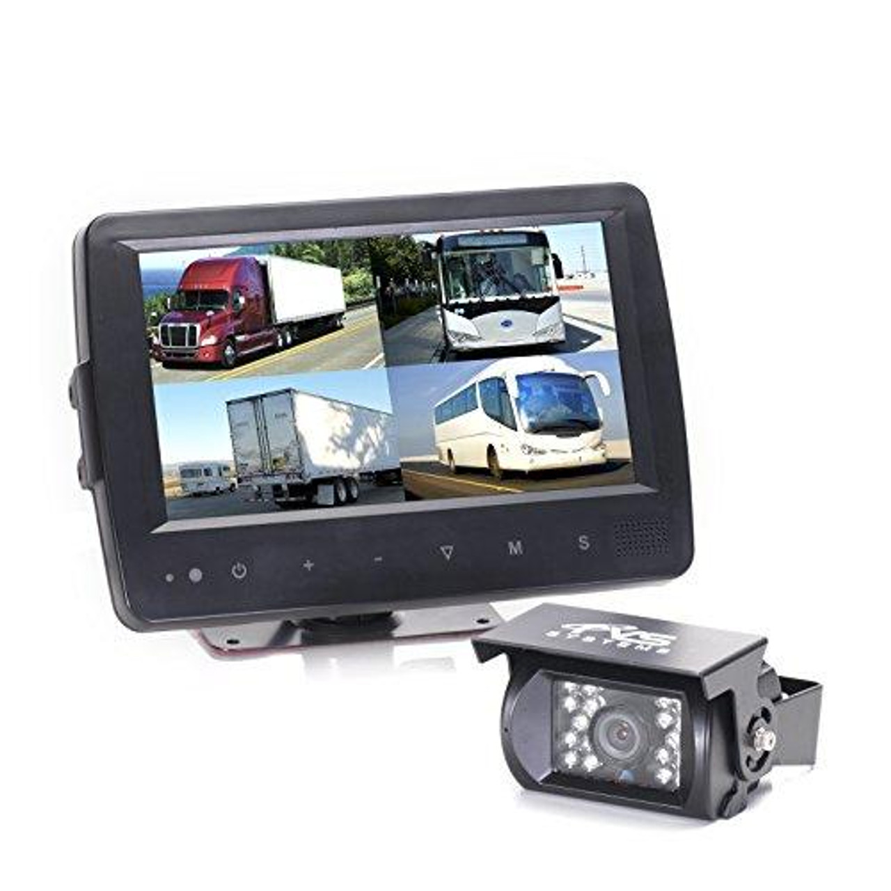 Rear View Safety RVS-7709900Q Video Camera with 7-Inch LCD (Black)