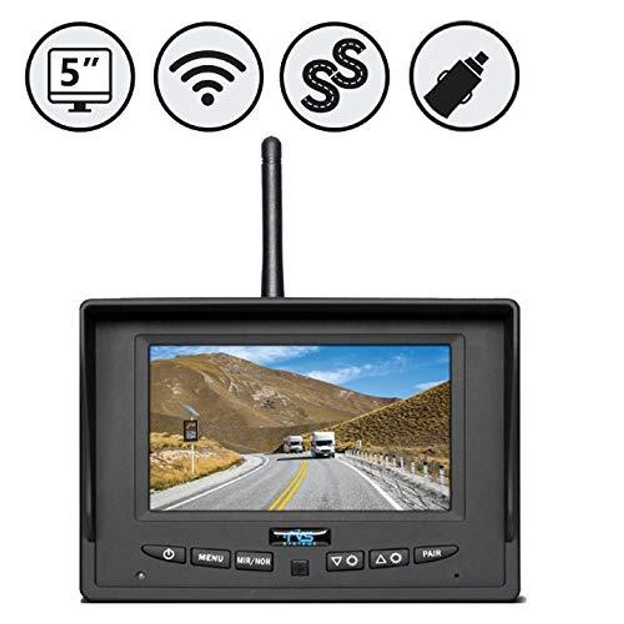 "Simplesight™ Wireless 5"" Led Single Screen Monitor"