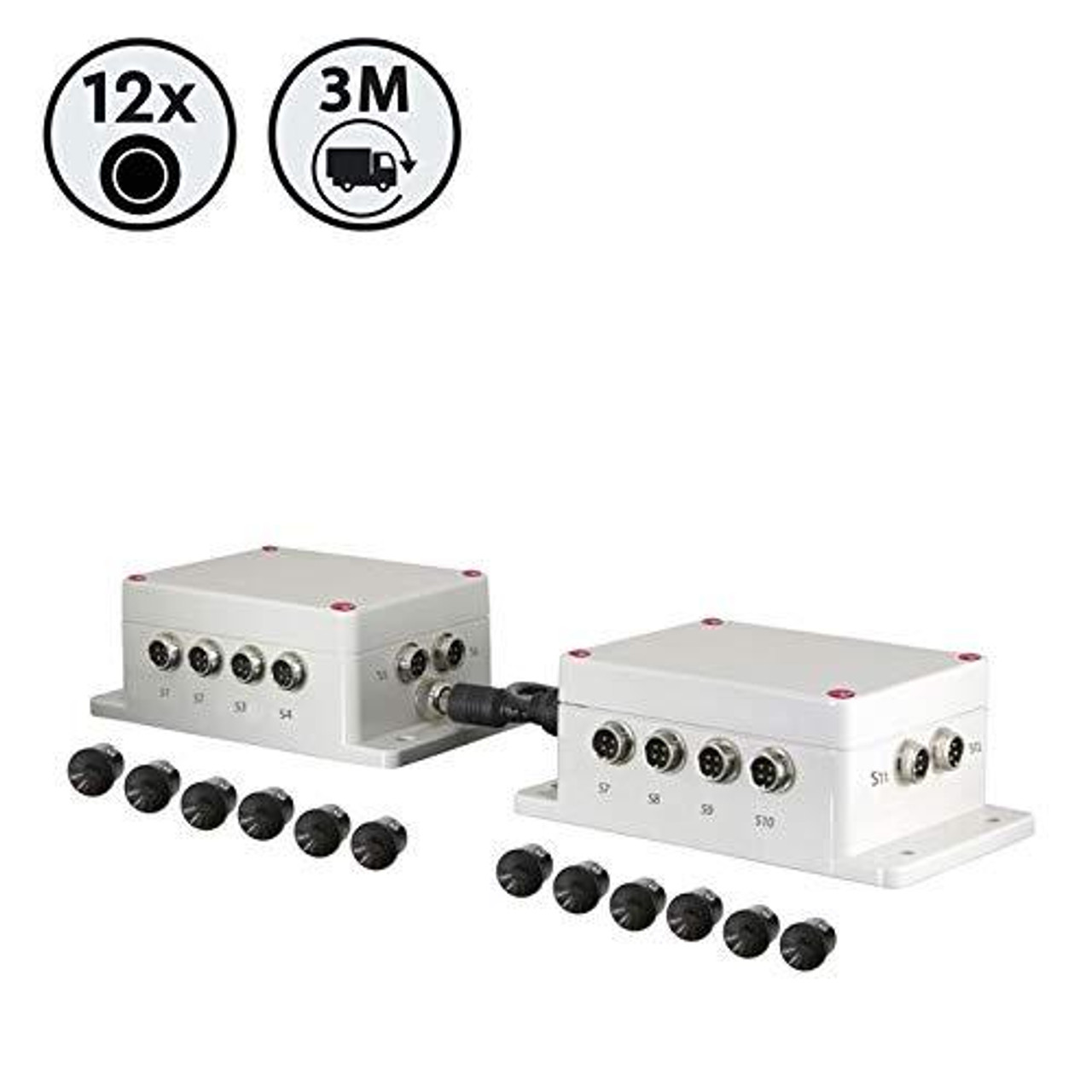 Surround Sensor Detection System (Ultrasonic 12)