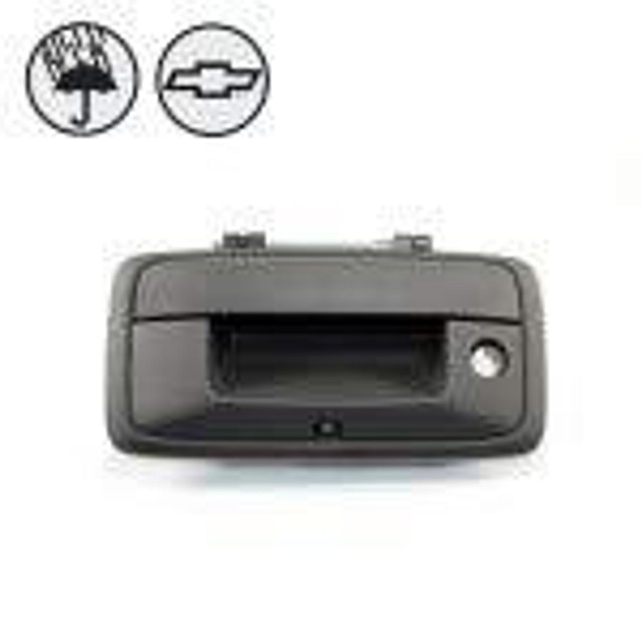 Tailgate Handle Backup Camera for GMC Sierra and Chevrolet Silverado (2014-2017)