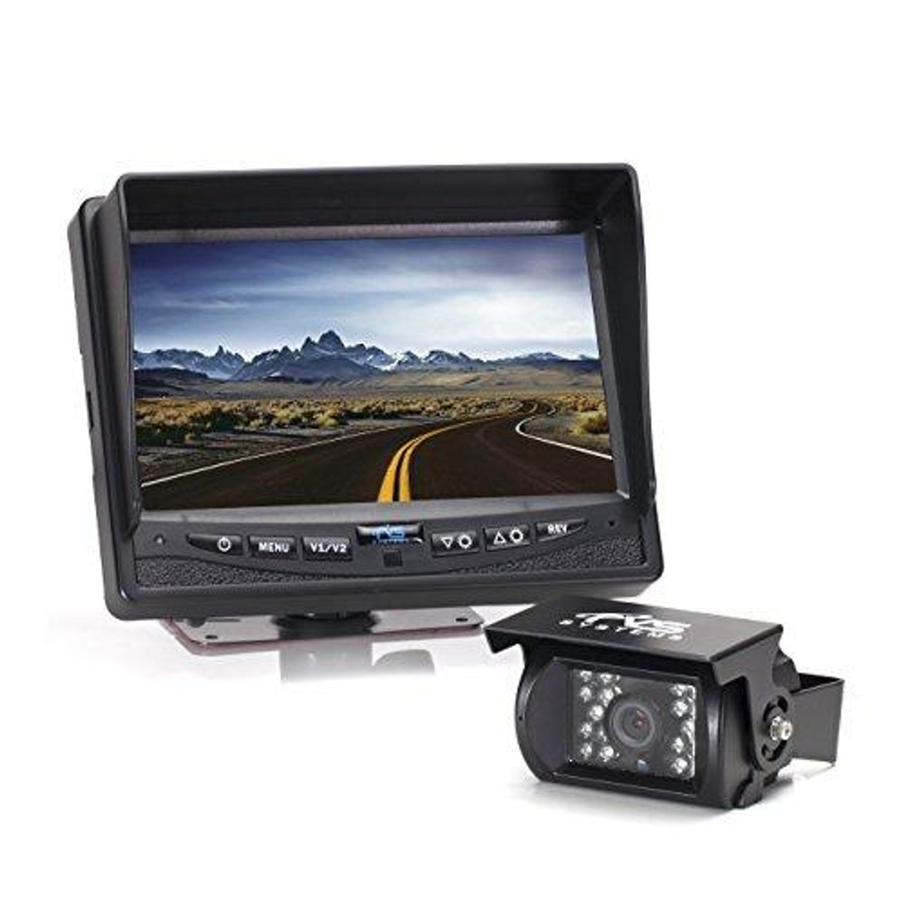 Rear View Safety Backup Camera System for Trucks, Buses, RV's, Emergency and Industrial Vehicles RVS-770613