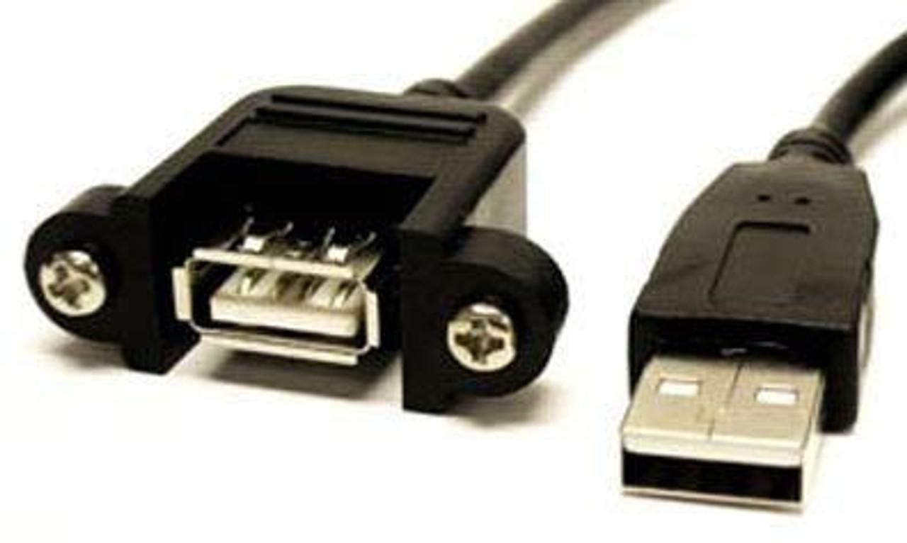 USB PNL MT A FEM-USBA Male 6'