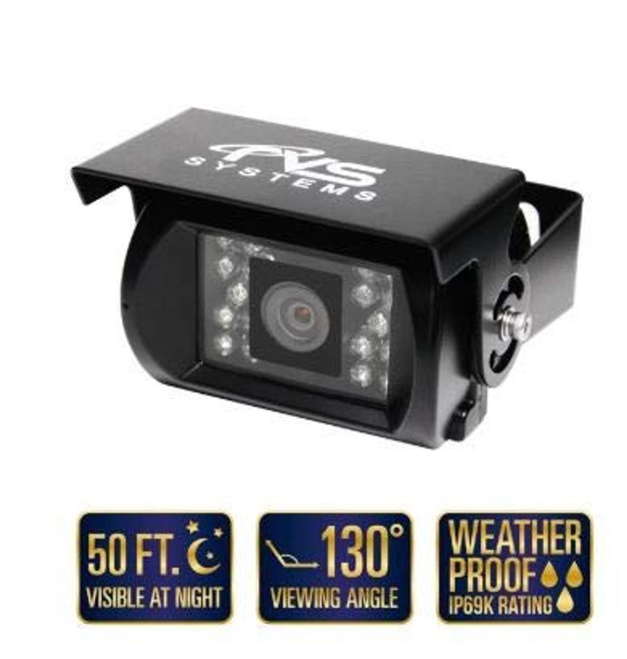 130° Backup Camera with 18 Infra-RED ILLUMINATORS (RVS-770)