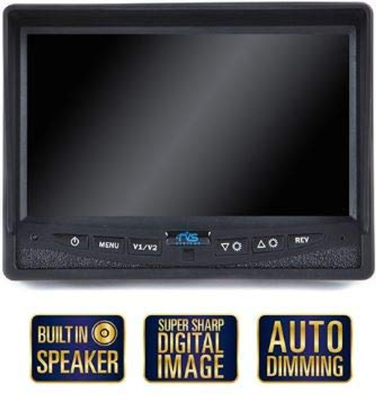 Backup Camera System with Heated Camera (RVS-812613-NM)