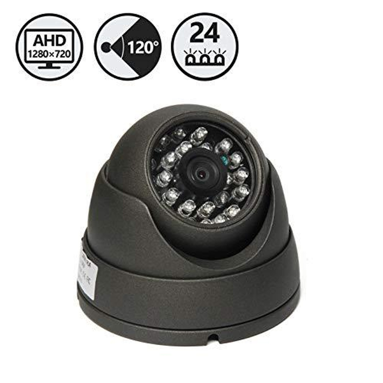 AHD 120° -  Dome Camera,66' Cable