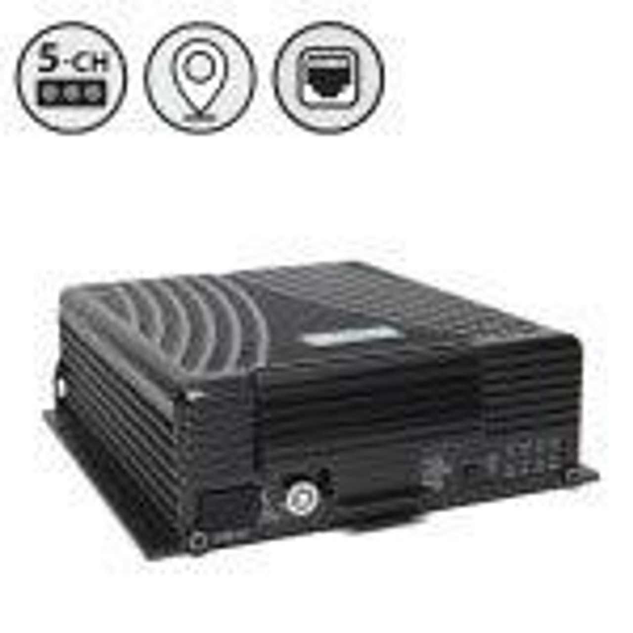 MobileMule™ 5550 | 5 Channel Mobile DVR with GPS (HDD), Western Digital Hard Drive