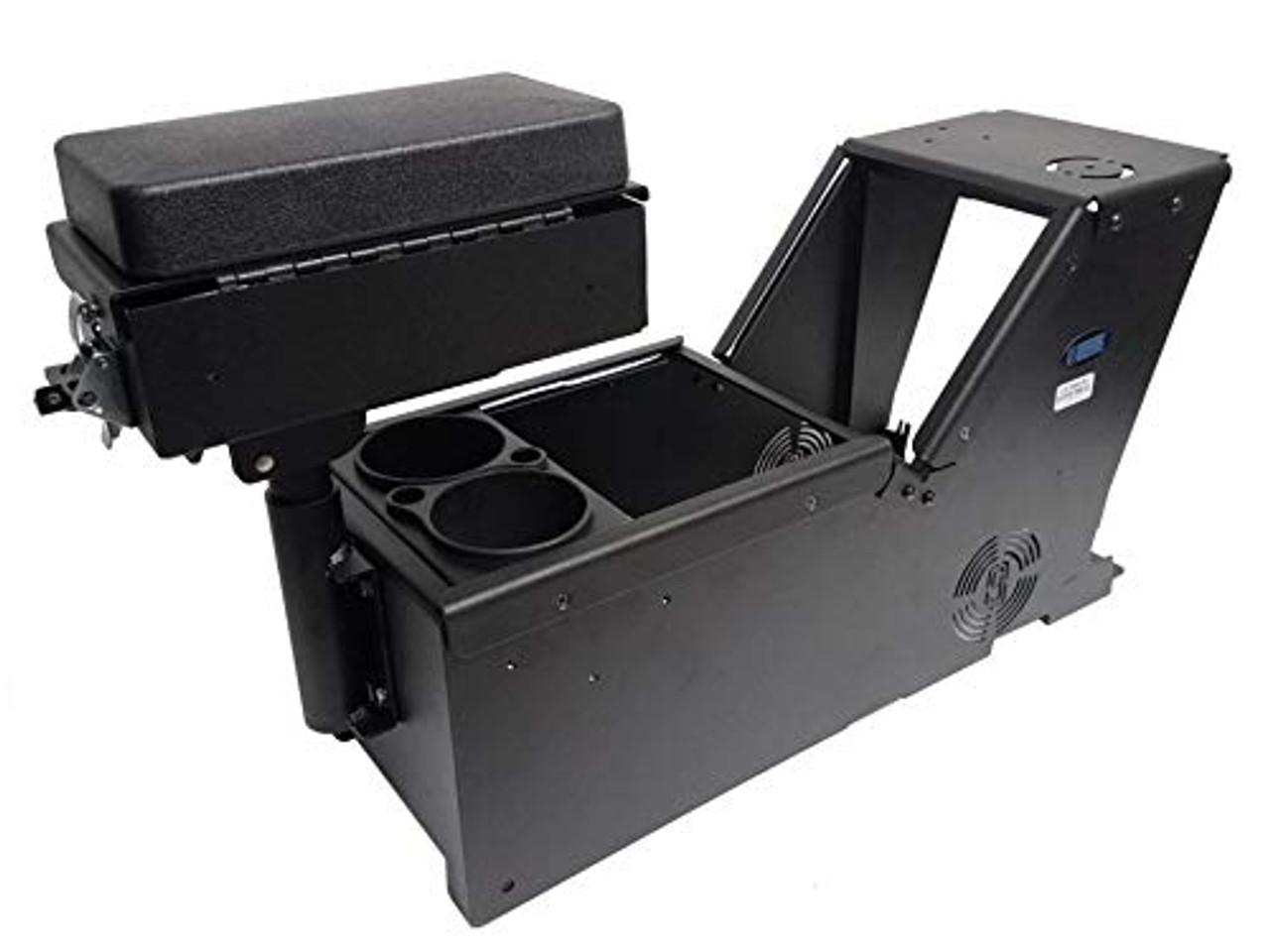 Kit, Ford PI Utility Console Box and Cup Holder. Includes 3 faceplates and 3 Filler Panels. (7170-0166-XX) | 0506X4Z6U4H