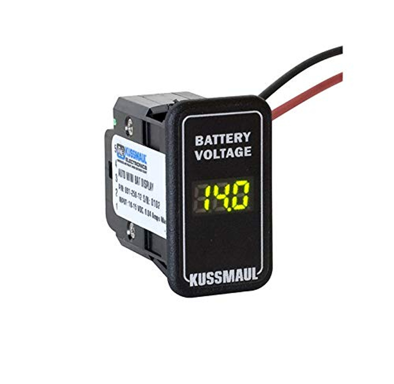Auto Mini Battery Display Module for Switch Knock-Outs | 0309X94V8MM