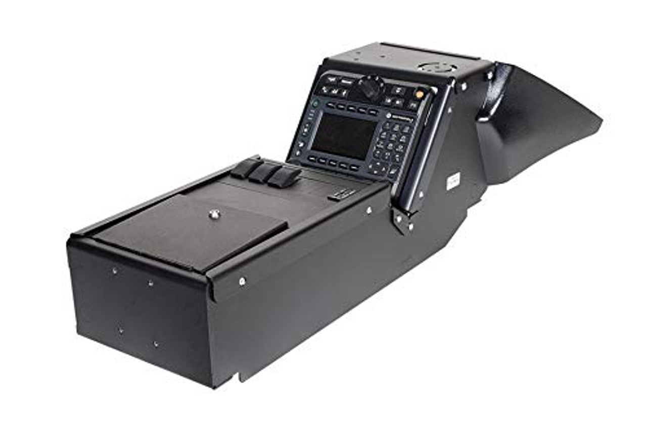 2011-2014 Dodge Charger Police Package Console Box. Includes 3 faceplates and 3 Filler Panels. | 0309X97JKDN