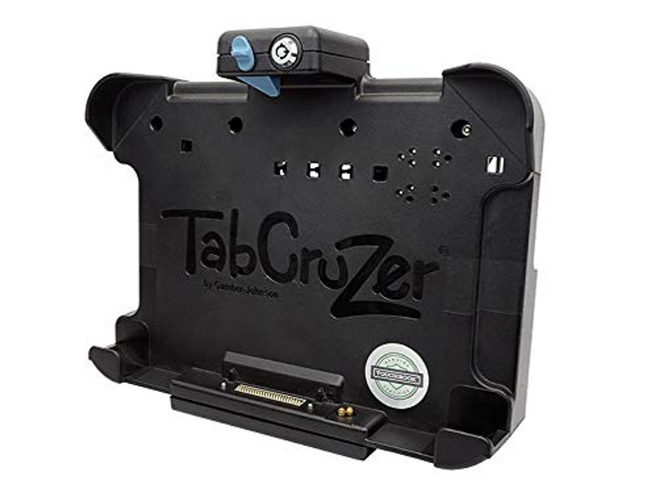 Panasonic Toughpad FZ-G1 NO RF or Dual RF Thin Vehicle Docking Station. Keyed Alike Lock. VESA 75 mounting Pattern.(7160-0595-XX) (Dual RF) | 0309X8MIEB2