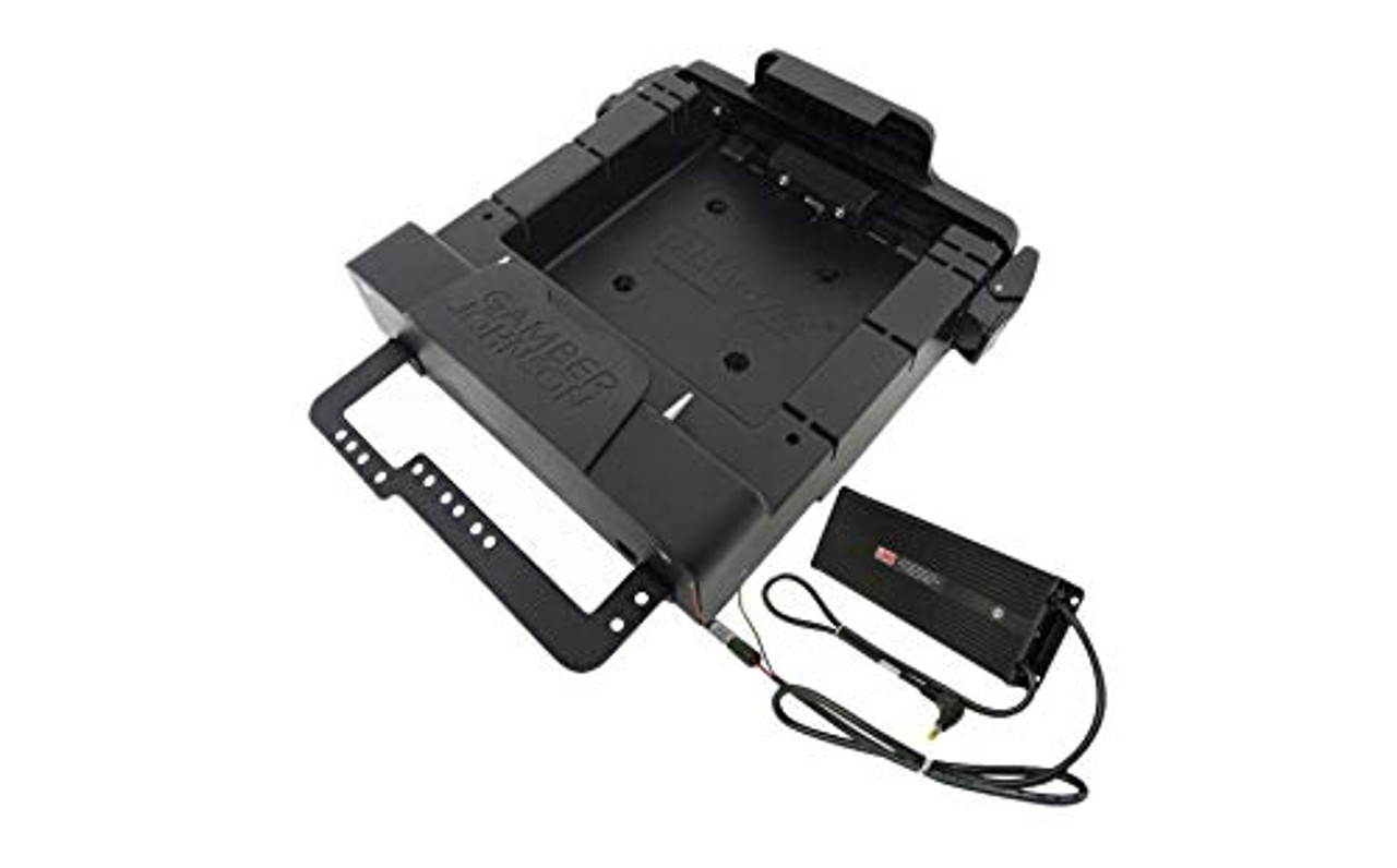 """KIT: Zebra ET50/51 55/56 10"""" Powered Cradle (7160-0818-04) and Lind 12/32 VDC Isolated Power Adapter (#16411) 