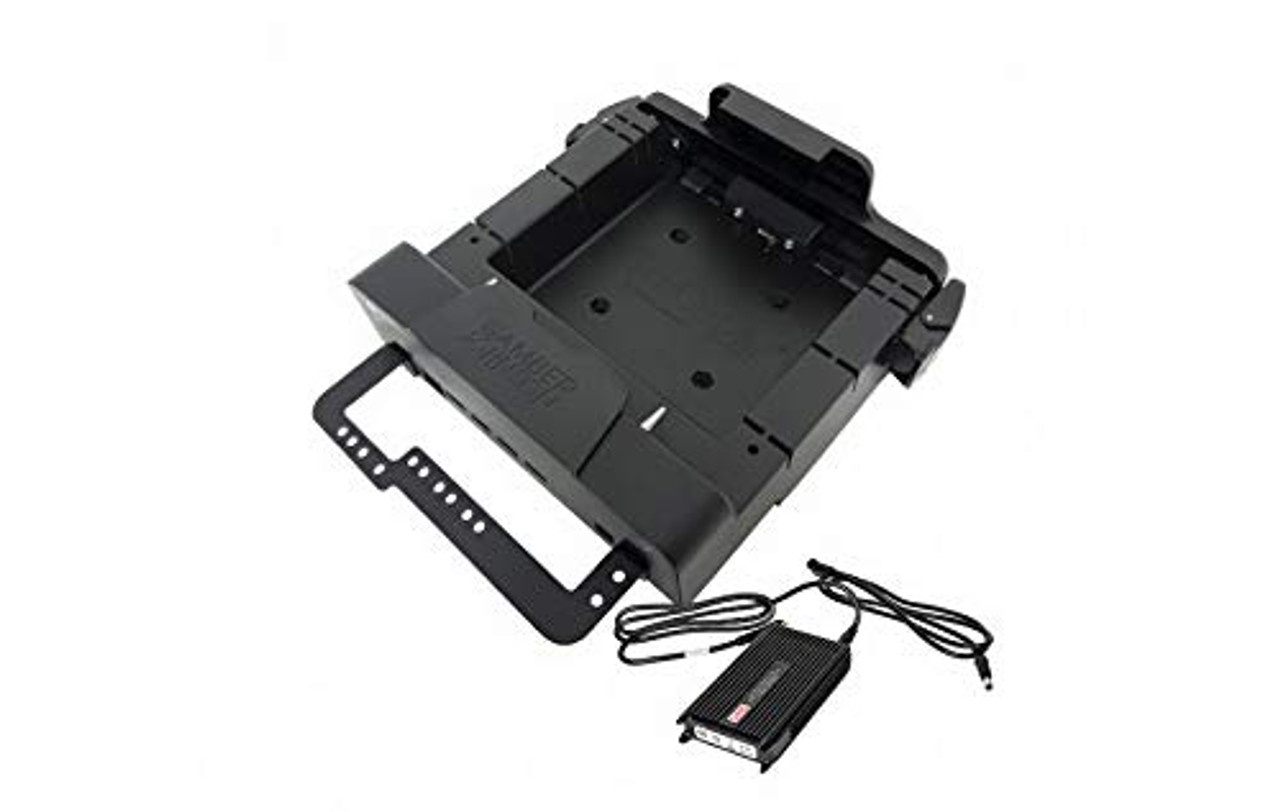 """KIT: Zebra ET50/51 55/56 8"""" Docking Station (7160-0861-00) and Lind Auto Power Adapter (#16410) (7170-0529) 