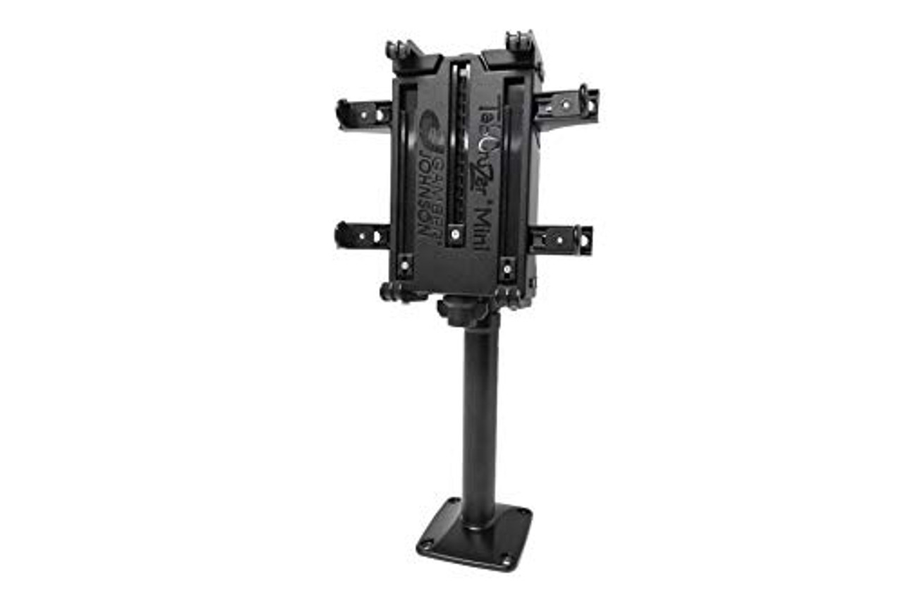 TABCRUZER Mini Height-Adjustable Desktop Mount KIT. Includes 7160-0774 TabCruzer Mini Universal Tablet Cradle and 7170-0587 Height-Adjustable Desktop Mount. | 0309X8OEASD